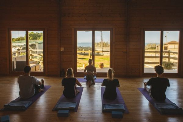 Yoga El Palmar in the beautiful A-Frame Yoga house