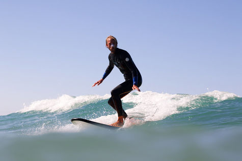 Surfing in El Palmar with first class waves