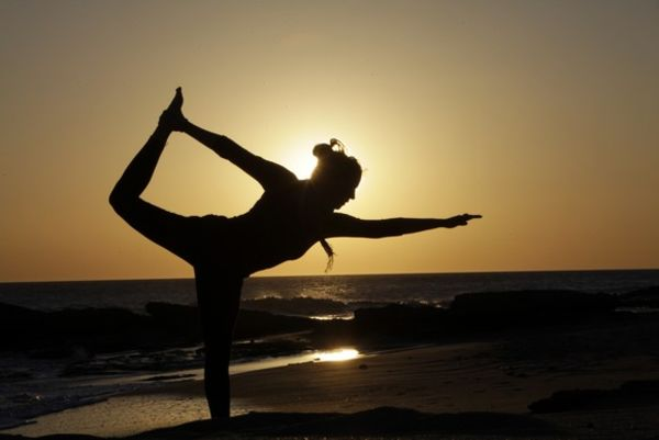 Yoga El Palmar at sunset