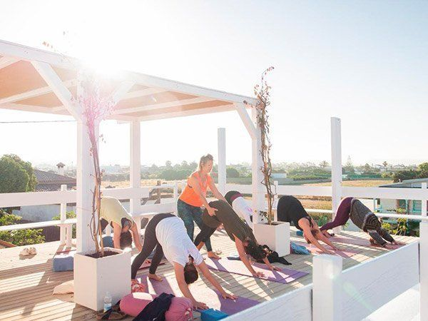 Sunrise Yoga in El Palmar