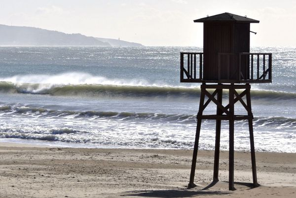 Close to the a frame surfcamp andalusia stands this beautiful wooden tower