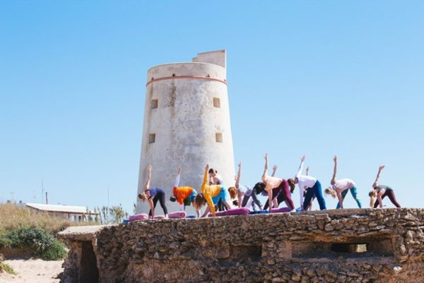 Yoga El Palmar at the Torre in Andalusia