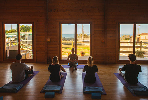 Yoga lesson with Yoga in El Palmar
