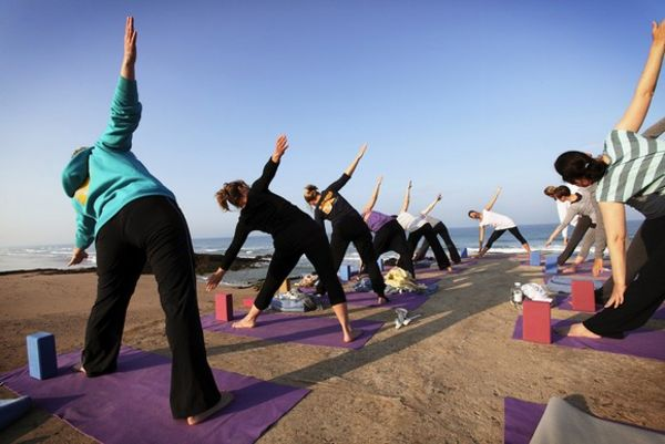 Yoga El Palmar by the sea