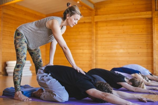 Relaxing yoga classes in El Palmar in Spain