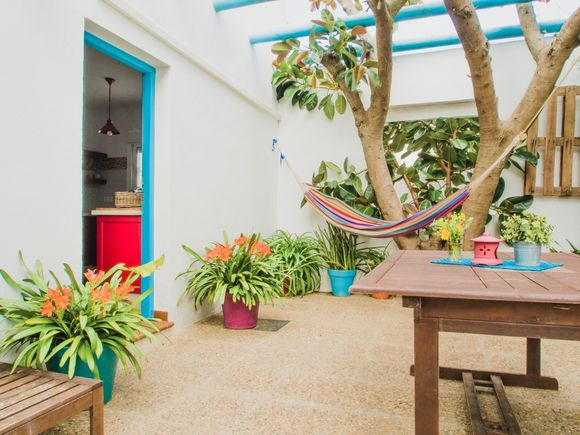 Beautiful El Palmar accommodation with private terrace