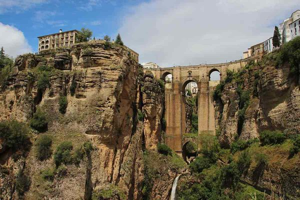 A day trip from A Frame Surfcamp Andalusia is Ronda
