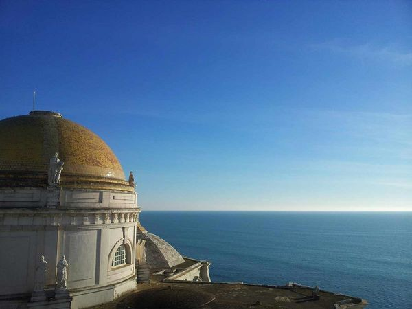 Cadiz is one of the most beautiful sights near the A Frame surf camp in Andalusia.