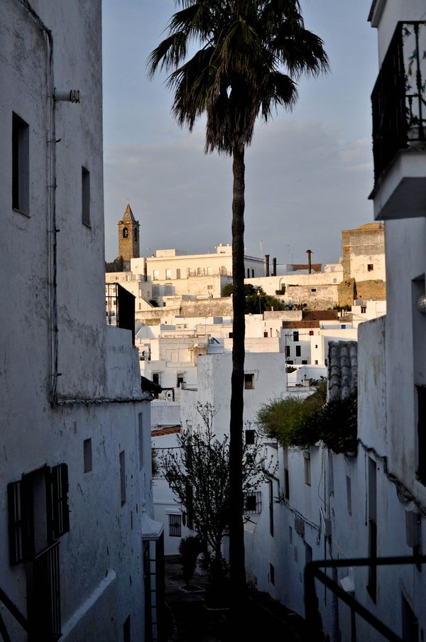 Conil is a white village near the a frame surfcamp andalusia