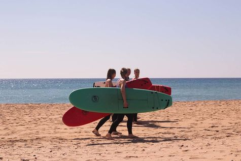 Surfing in Spain for beginners