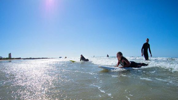 Surf Courses at the A-Frame Surfcamp in Spain